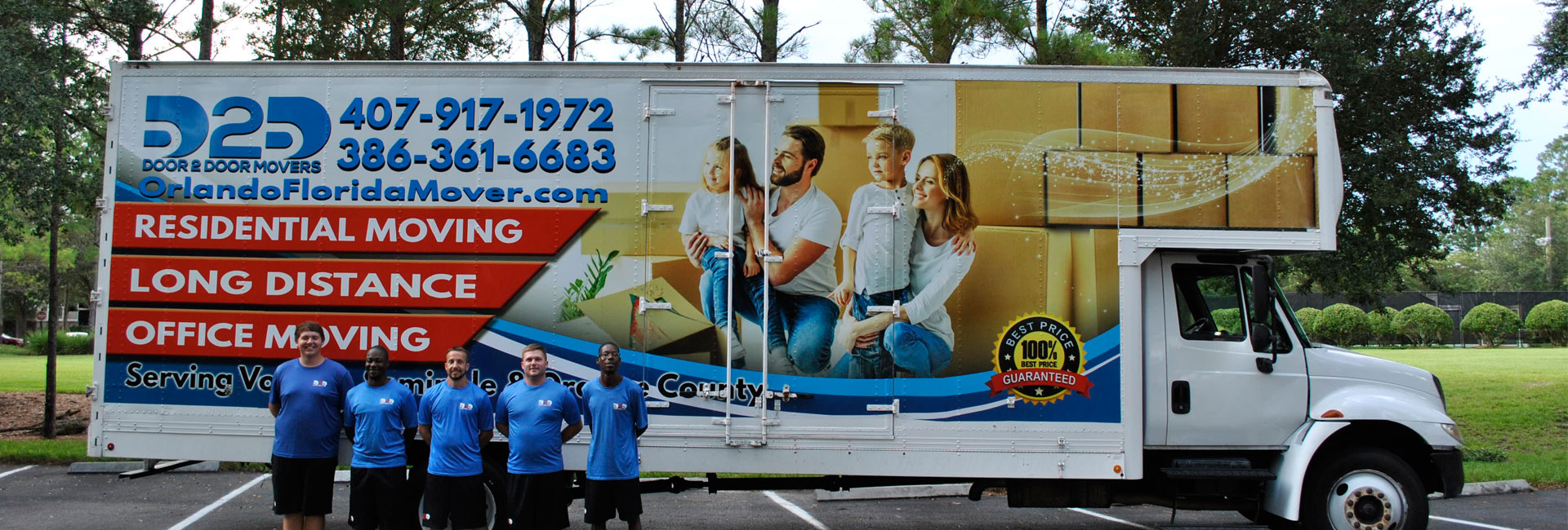 Providing Luxury Moving Services to all of Orlando